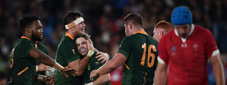 Springboks edge Wales to book place in World Cup final