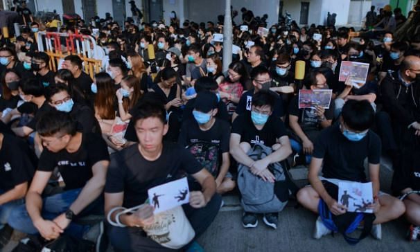 Violence in Hong Kong  as student is shot dead