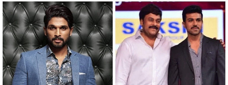 Allu Arjun praises Ram Charan for giving best gift 'Sye Raa' to his dad