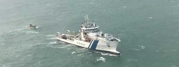 Indian Coast Guard rescues nine fishermen from midst of sea