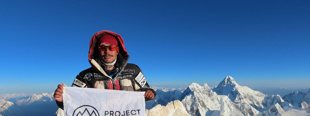 Nepali climber claims world record for scaling 14 top peaks in 7 months