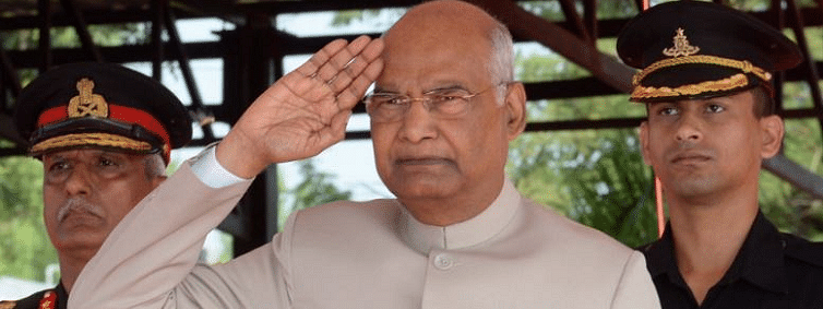 Pres presents colours to Army Aviation Corps