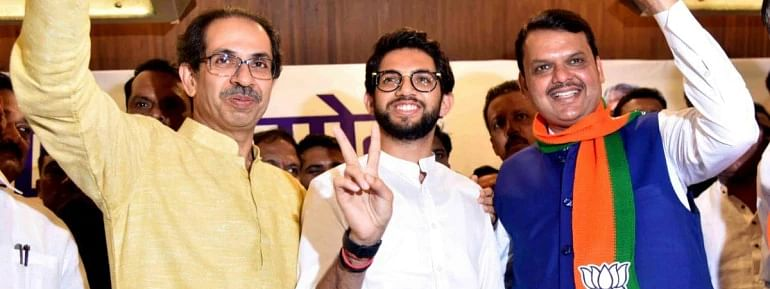 BJP-Sena alliance all set to retain power in Maharashtra