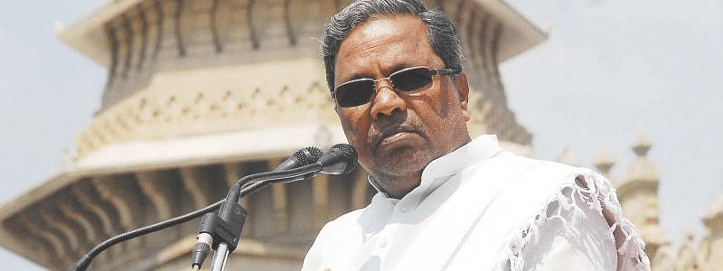 Flood relief: Siddaramaiah slams Karnataka government