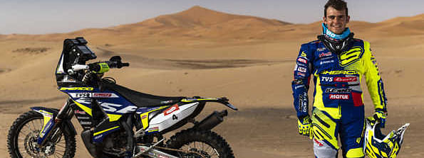 Sherco TVS Rally Factory Team gears up for Morocco event