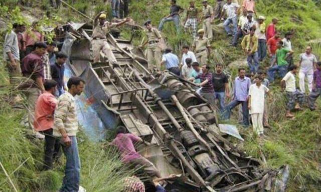 One civilian killed, 21 BSF injured in bus accident in Meghalaya