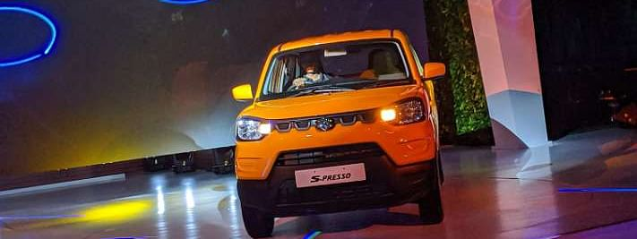 Maruti launches entry-level SUV S-Presso at Rs 3.69 Lakh