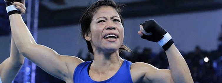 Mary Kom storms into semis, secures 8th world medal