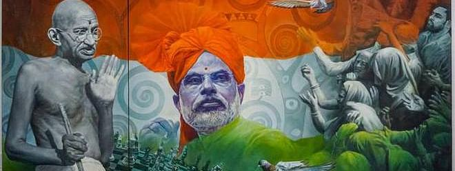 ₹25 lakh bid for paintings of Modi and Gandhi in e-auction