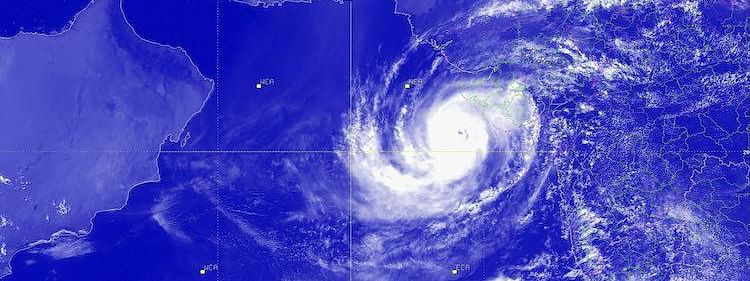Cyclone MAHA off Lakshadweep intensifies