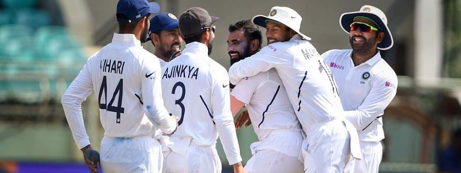 First Test: India defeats South Africa by 203 runs