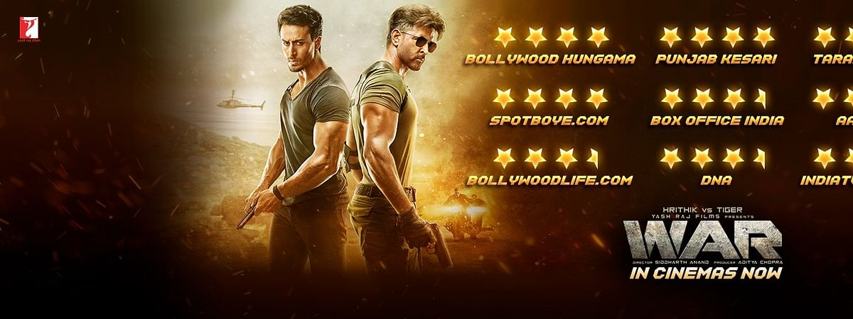 'WAR' creates history, collects Rs 53.35 cr