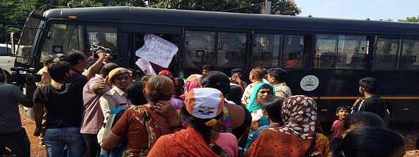 Over 60 women Cong workers detained for protesting against Nirmala Sitharaman