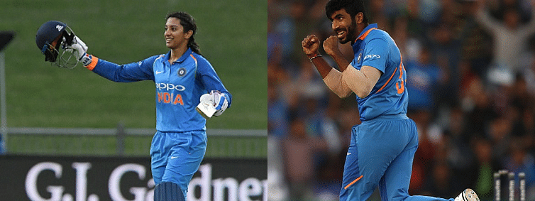 Bumrah, Mandhana win Wisden India award