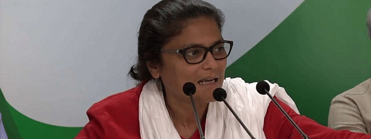 Sushmita Dev attacks BJP on seeking support from Gopal Kanda