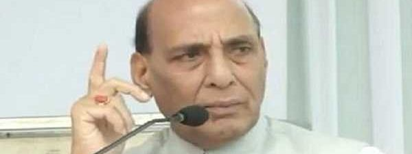 Rajnath Singh greets soldiers on Infantry Day