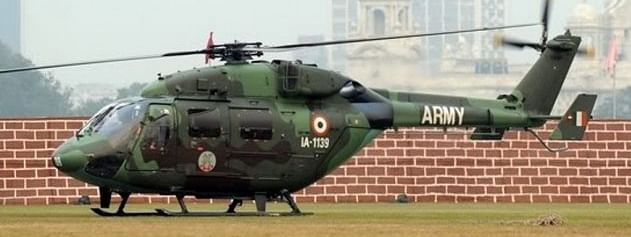 Army helicopter force lands in J&K, all occupants safe