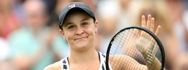 Tennis ace Barty named Australia's top athlete