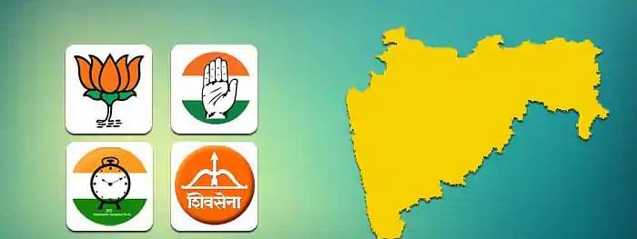 Latest Party Position in Maharashtra Assembly elections