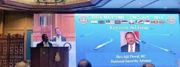 Doval opens 2nd edition of Goa Maritime Conclave