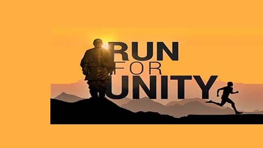 Over one lakh people participate in 'Run for Unity' programme