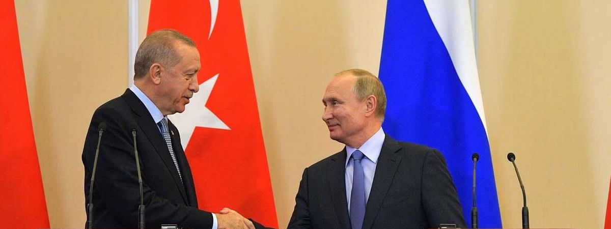 Erdogan hails deal with Putin