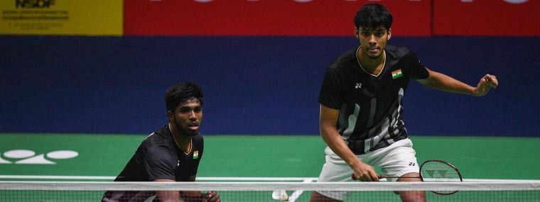 Satwik-Chirag lose in finals of French Open Badminton