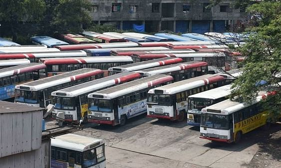 No respite for lakhs of commuters as TSRTC strike enters 25th day