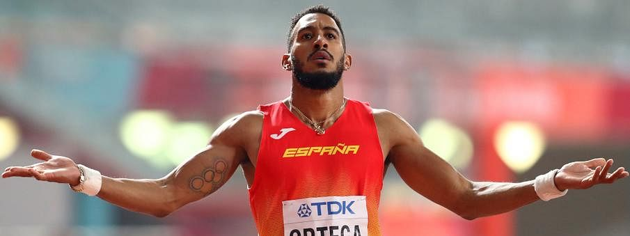Spain's Ortega gets bronze medal after appeals over 110m hurdles