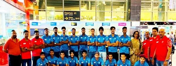 Jr Men's Hockey leaves for 9th Sultan of Johor Cup in Malaysia
