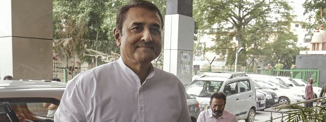 NCP leader Praful Patel reaches at ED office for questioning