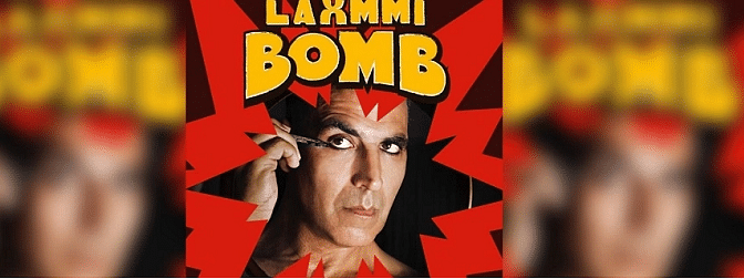 First look poster of Akshay Kumar's  Laxmmi Bomb is out