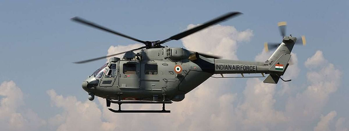 IAF helicopter makes precautionary landing in Assam