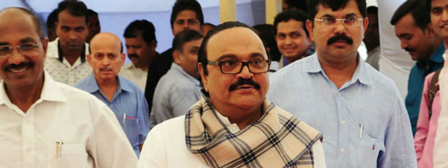 NCP leader Chhagan Bhujbal wins, son loses