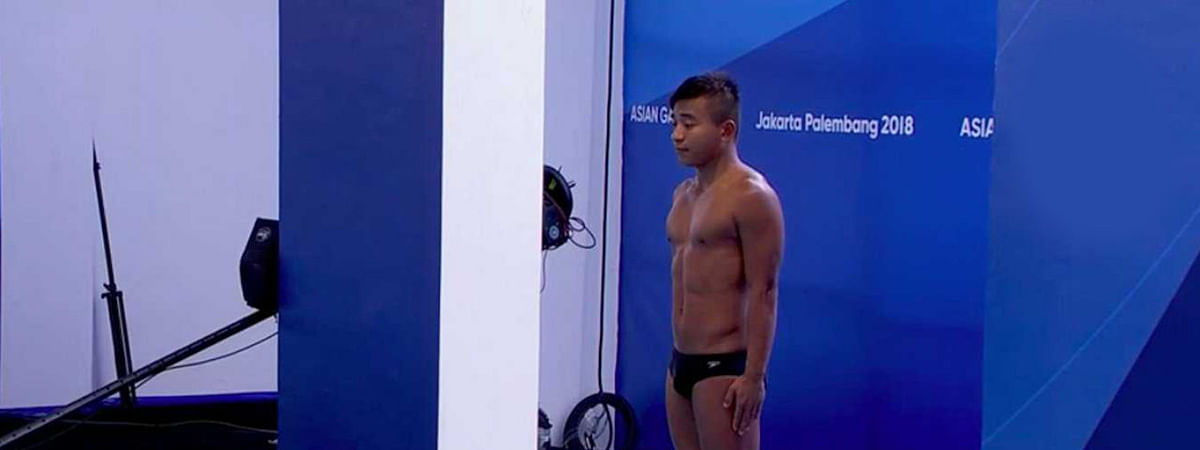 Indian diver Sharma hopes military games to be springboard for Olympics