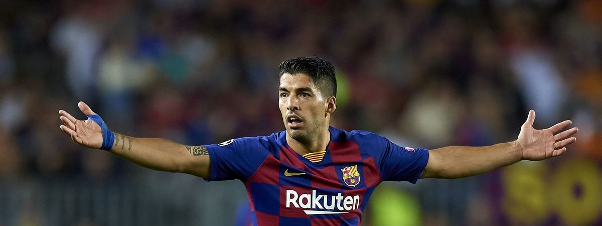 Luis Suarez's volley named Champions League goal of the week
