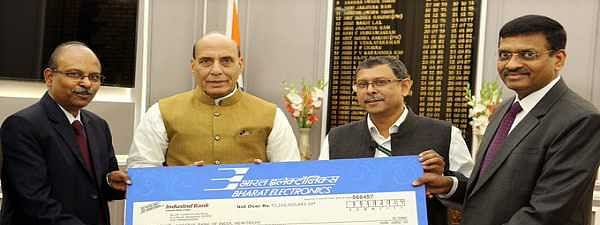 BEL pays Rs 232 Cr as final dividend to government