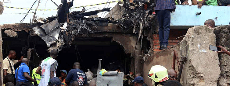 Congo plane crash: 24 bodies recovered