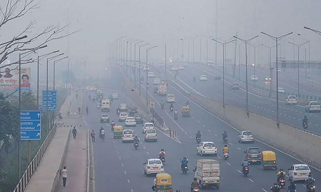 Winds bring relief to polluted Delhi