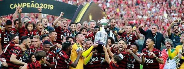 Flamengo repeat Pele's Santos by winning Serie A-Libertadores double