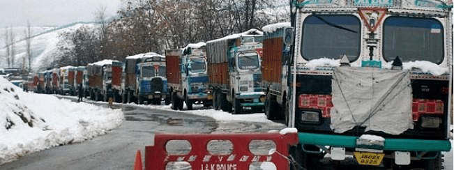 Highway connecting Ladakh with Kashmir remains closed