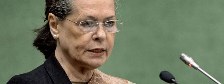 Economy in peril but Govt busy managing headlines: Sonia