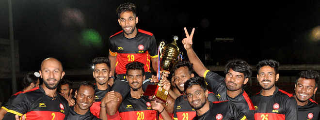 South Central Railway rallies to down PNB, wins Gurmit Hockey