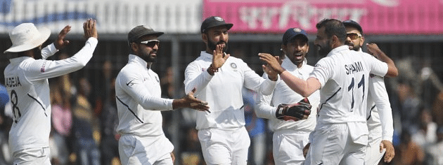 1st Test: India bundle Bangladesh for 150
