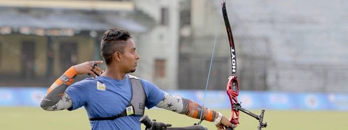 Atanu Das bags bronze in men's recurve at Asian Archery