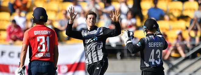 NZ defeat Eng by 21 runs to level T20 series