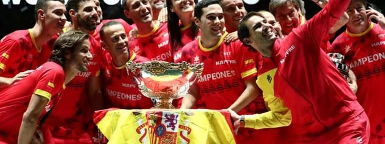 Spain clinches sixth Davis Cup with Nadal win over Canada's Shapovalov