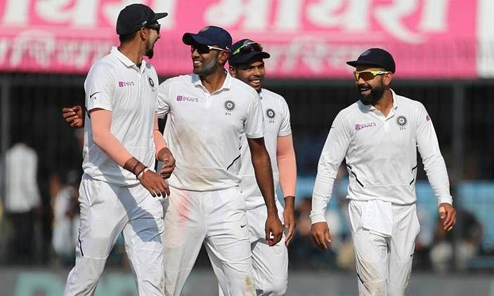 India declared 347/9, lead by 241 runs against Bangladesh at Eden