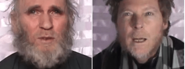 Taliban outfit set free American, Australian hostages
