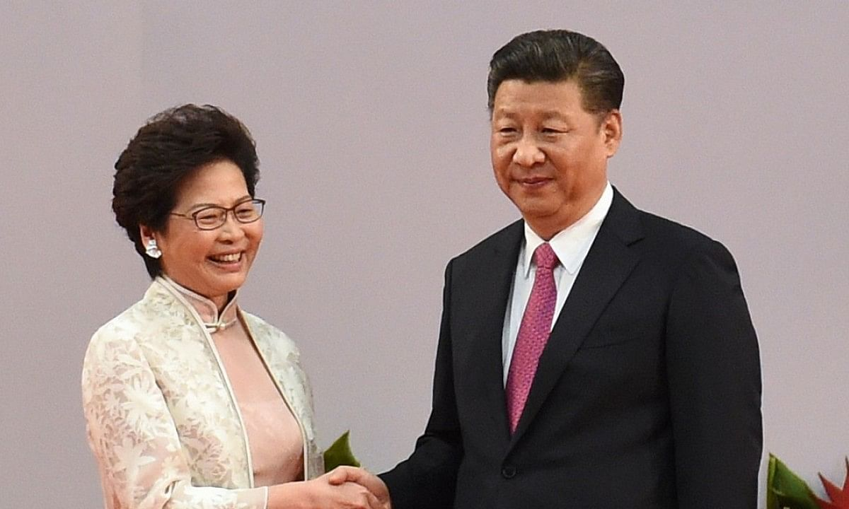 Chinese President Xi expresses 'high degree of trust' Carrie Lam